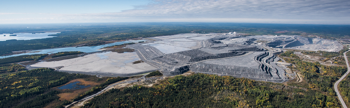 Canadian Malartic Mine Tailings Storage Facility (photo credit Canadian Malartic)